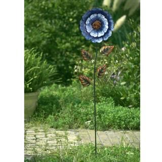Sunjoy Large Blue Flower Garden Stake