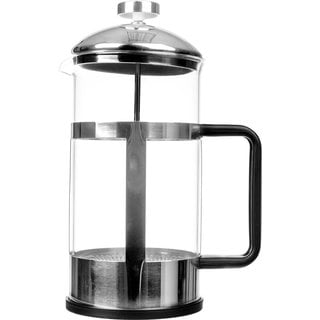 Stainless Steel Frame and Lid French Press Coffee Maker & Tea Maker (34 ounces)