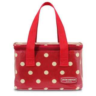 Jacki Design Polka Dot Small Insulated Lunch Bag