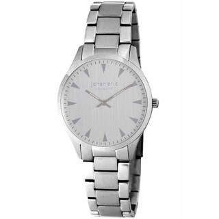 Johan Eric Men's Helsingør Stainless Steel Silverwatch