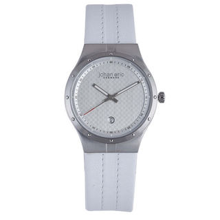 Johan Eric Men's Skive JE3001-04-001 Calfskin Whitewatch