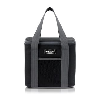 Jacki Design Urban Large Black Insulated Lunch Bag