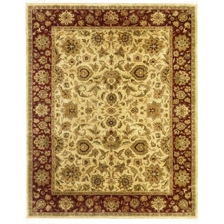 Hand Knotted Agra Design Rug (5'9 x 8'8)