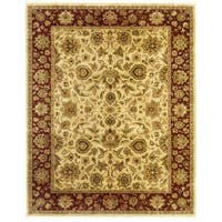 Hand Knotted Agra Design Rug - 5'9 x 8'8