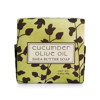 Cucumber and Olive Oil Botanical Soap (Set of 6)