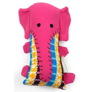 Handcrafted Little Friends Pink Elephant (Malawi)