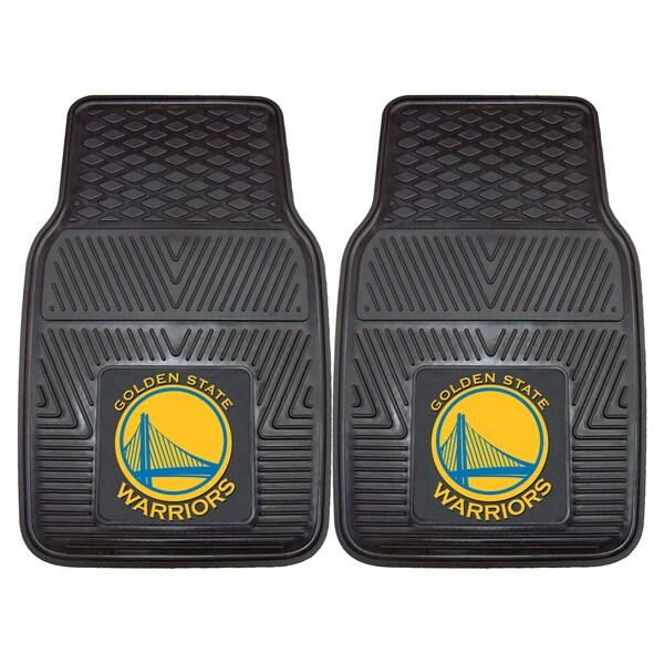 NBA - Golden State Warriors Heavy Duty 2-piece Vinyl Car Mats