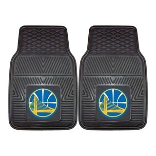 NBA - Golden State Warriors Heavy Duty 2-piece Vinyl Car Mats|https://ak1.ostkcdn.com/images/products/11599772/P18538354.jpg?_ostk_perf_=percv&impolicy=medium