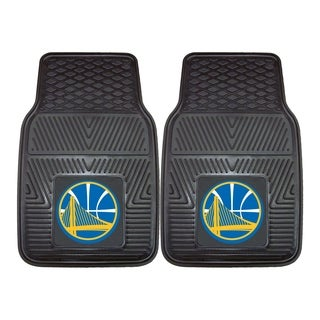NBA - Golden State Warriors Heavy Duty 2-piece Vinyl Car Mats