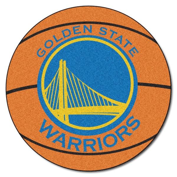 Shop Nba Golden State Warriors Basketball Mat 27 Inch
