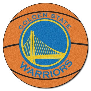 NBA - Golden State Warriors Basketball Mat 27-inch diameter