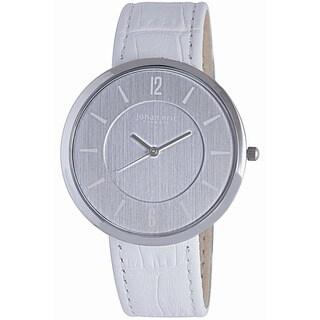 Johan Eric Women's Vejle JE5001-04-001A Leather Calfskin Whitewatch
