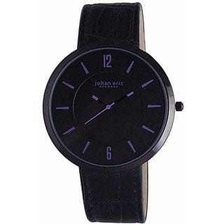 Johan Eric Women's Vejle JE5001-13-007A Leather Calfskin Blackwatch