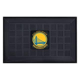 NBA - Golden State Warriors Medallion Door Mat|https://ak1.ostkcdn.com/images/products/11599911/P18538564.jpg?impolicy=medium
