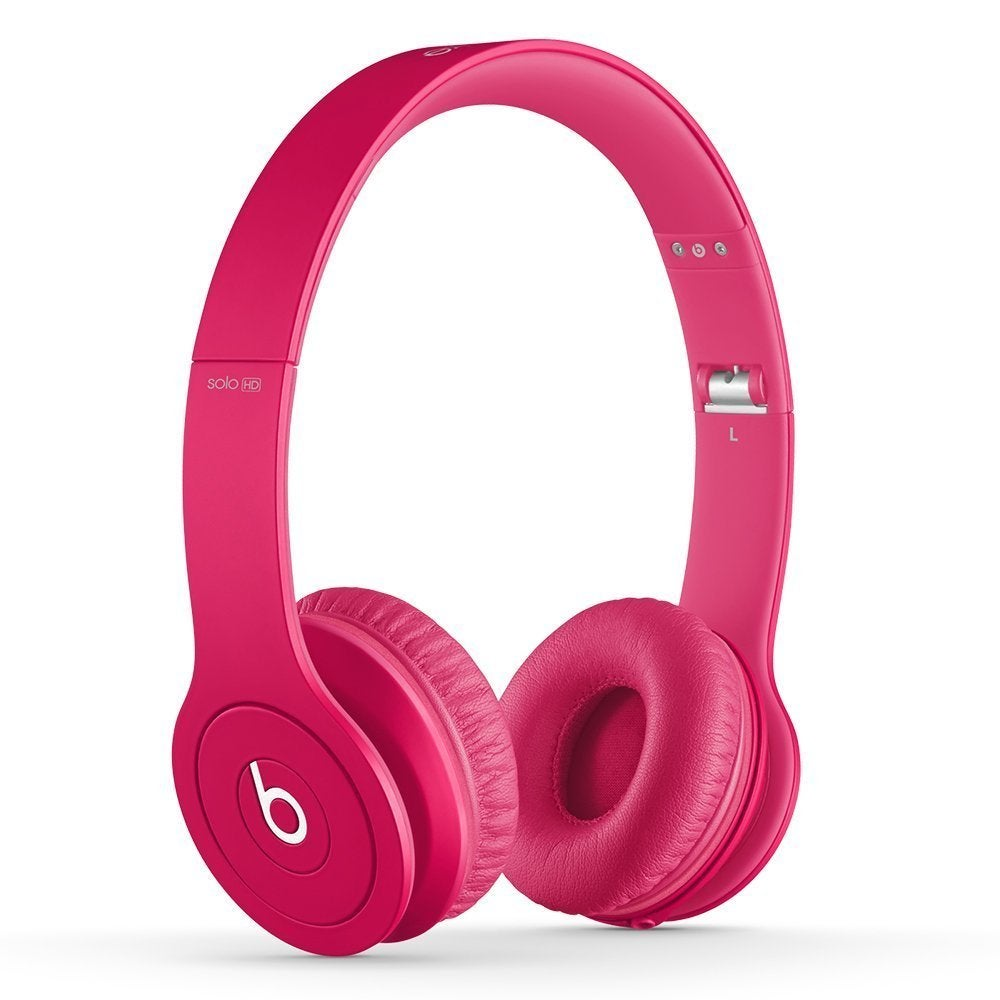Shop Beats By Dre Matte Pink Solo Wired Headphones Refurbished Overstock 11599939