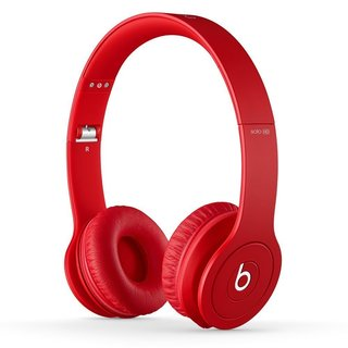 Beats By Dre Matte RedSolo Wired Headphones (Refurbished)