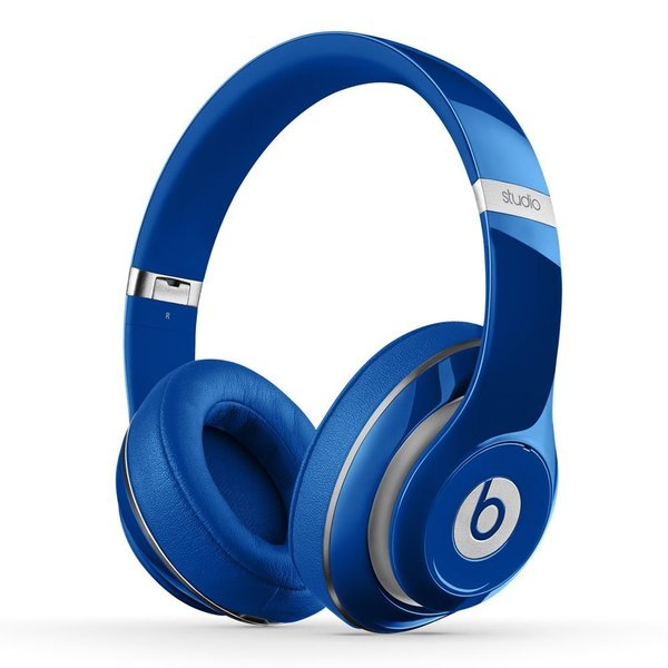 Beats By Dre Blue Studio 2 Wired Headphones (Refurbished)