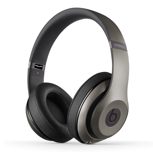 61f55a8b288 Shop Beats By Dre Studio 2 Wireless Headphones Titanium (Refurbished ...