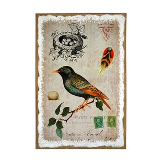 Studio Arts Flights of Fancy Sparrow Print