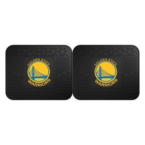 NBA - Golden State Warriors Backseat Utility Mats 2 Pack