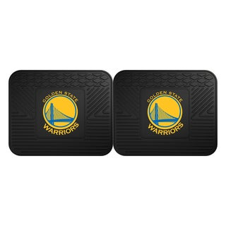 NBA - Golden State Warriors Backseat Utility Mats 2 Pack