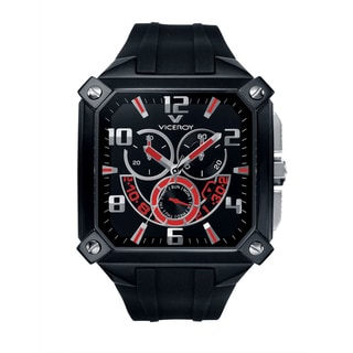 Viceroy Men's 47639-75 Black Rubber Watch