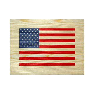 Studio Arts Postcards from the Edge American Flag Print