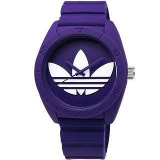Adidas Women's Santiago Purple Dial Rubber Strap Watch