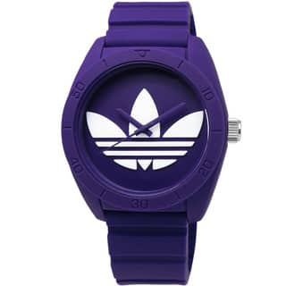 Adidas Women's Santiago Purple Dial Rubber Strap Watch|https://ak1.ostkcdn.com/images/products/11599994/P18538512.jpg?impolicy=medium