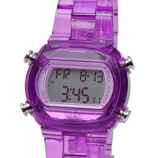 Adidas Women's Purple Multifunction Digital Watch