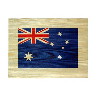 Studio Arts Postcards from the Edge Australian Flag Print