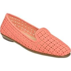 Women's Aerosoles You Betcha Slip-On Light Coral Perfed Nubuck