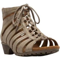 Women's Cobb Hill Gabby Gladiator Bootie Khaki Full Grain Leather (More options available)