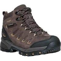 Men's Propet Ridge Walker Hiking Boot Brown Suede/Mesh