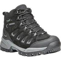 Men's Propet Ridge Walker Hiking Boot Black Suede/Mesh