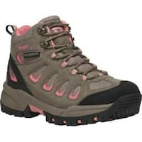 Women's Propet Ridge Walker Hiking Boot Gunsmoke Melon Suede/Mesh