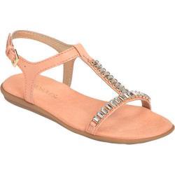 Women's Aerosoles Chronichle T Strap Sandal Peach Faux Leather