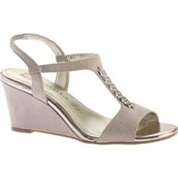 Women's Anne Klein Emanie Wedge Sandal Natural Fabric
