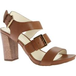 Women's Anne Klein Onmymind Sandal Cognac Leather