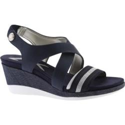 Women's Anne Klein Pawel Slingback Navy Multi Synthetic