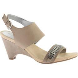 Women's Anne Klein Rio Slingback Taupe/Taupe Nubuck