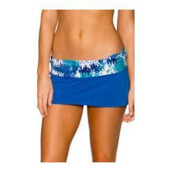 Women's Swim Systems Banded Skirt Ocean Palms
