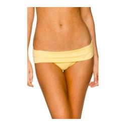 Women's Swim Systems Flat Fold Hipster Bottom Lemonade
