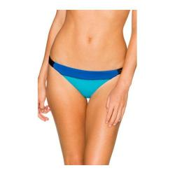 Women's Swim Systems Micro Hipster Bottom Block Party Blue
