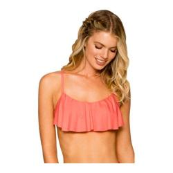 Women's Swim Systems Underwire Flounce with Foam & Removable Pad Blush