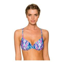 Women's Swim Systems Underwire Push Up Top w/ Removable Pad Cascade