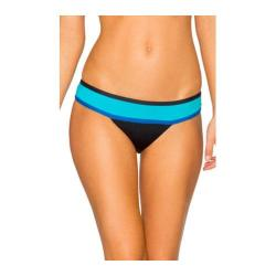 Women's Swim Systems Wide Band Hipster Bottom Block Party Blue