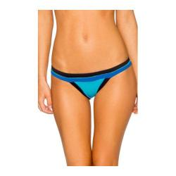 Women's Swim Systems Spliced Hipster Bottom Block Party Blue