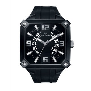 Viceroy Men's 47637-55 Black Rubber Watch