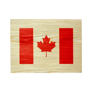 Studio Arts Postcards from the Edge Canadian Flag Print